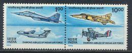 °°° INDIA - Y&T N°1164/65  MNH - 1992 °°° - Inde