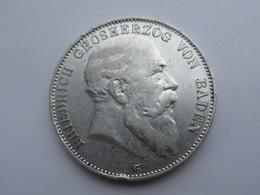 Baden, 5 Mark, 1903 Friedrich I - 2, 3 & 5 Mark Zilver
