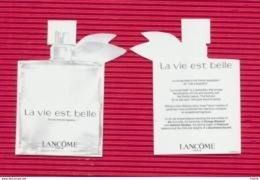 F-Réplique Lancome La Vie Est Belle  - Perfume Card - Afrique Du Sud - Cartes Parfumées