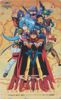 Télécarte Japon / 110-011 - MANGA - LORD OF LORDS RYU KNIGHT - ANIME Japan Phonecard - BD COMICS TK - MOVIC - 10017 - Comics
