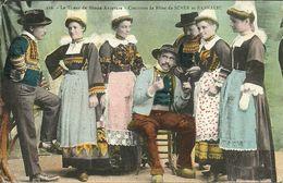 SCAER  -- Costumes De Fête De Bannalec Et Scae - Le Tireur De Cartes                                  -- - France