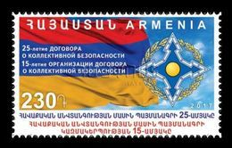 Armenia 2017 Mih. 1039 Collective Security Treaty MNH ** - Armenia