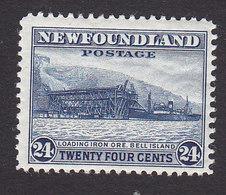 Newfoundland, Scott #264, Mint Hinged, Loading Ore, Issued 1941 - Newfoundland