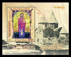 Armenia 2018 Mih. 1057 (Bl.89) St. Grigor Narekatsi MNH ** - Armenia