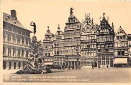 ANTWERPEN - Groote Marktplaats En Monument Brabo - Antwerpen