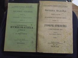 Dubrovacka Numizmatika Dubrovnik Von Resetar Dubrovnik Numismatics Very Rare Books, Excellent Condition - Boeken, Tijdschriften, Stripverhalen