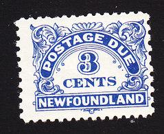 Newfoundland, Scott #J3a, Mint Hinged, Postage Due, Issued 1939 - Newfoundland