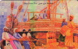 TARJETA TELEFONICA DE OMAN. - 17OMN (153) - Oman