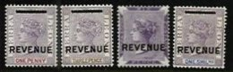 SIERRA LEONE, Revenues, B&H 1/4, */** MLH/MNH, F/VF - Sierra Leone (...-1960)