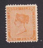 Prince Edward Island, Scott #4, Mint No Gum, Victoria, Issued 1862 - Prince Edward Island
