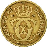 Danemark, Christian X, Krone, 1925, Copenhagen, TTB, Aluminum-Bronze, KM:824.1 - Denmark