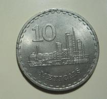 Mozambique 10 Meticais 1980 - Mozambique
