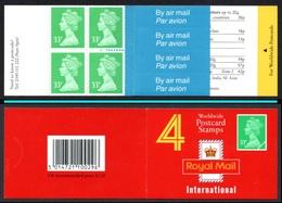 GREAT BRITAIN 1992 Definitives 4x33p: Stamp Booklet UM/MNH - Booklets