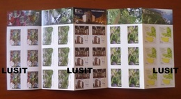 30 Label Stamps 2018 MADEIRA PORTUGAL Fruits Banana Cathedral FUNCHAL Flowers Fleurs Fleur Nature Flora Flore Water Eau - Ungebraucht