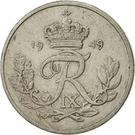 Danemark, Frederik IX, 10 Öre, 1949, Copenhagen, TTB, Copper-nickel, KM:841.1 - Denmark