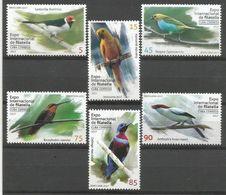 Cuba 2017 Brazil Philatelic Exhibition Birds 6v MNH - Cuba