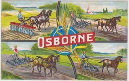 GERMANY 1910 ILLUSTR. ADVERT PC (OSBORNE, U.S.A., Agricultural Machines) USED HAMBURG - Autres
