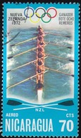 NICARAGUA - Scott #C903 Montréal '76 Olympic Games / Used Stamp - Summer 1976: Montreal