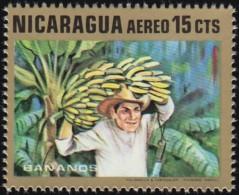 NICARAGUA - Scott #C696 Bananas / Mint NH Stamp - Fruit