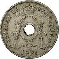 Belgique, 25 Centimes, 1921, TB+, Copper-nickel, KM:68.1 - 1909-1934: Albert I