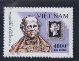 Vietnam Viet Nam MNH Perf Stamp 1995 : Stamp Day / Birth Bicentenary Of Sir Rowland Hill (Ms715) - Vietnam