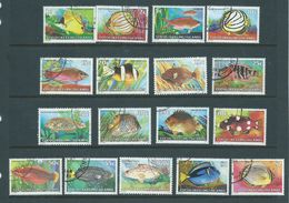 Cocos Keeling Island 1979  Fish Definitives Set 17 FU - Cocos (Keeling) Islands