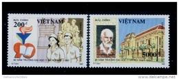 Vietnam Viet Nam MNH Perf Stamps 1992 : 90th Anniversary Of Hanoi Medical School / Dr. Yersin (Ms654) - Viêt-Nam