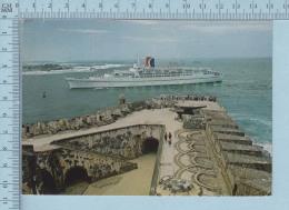"Puerto Rico - The Majestic ""Fun Ship"" Festivale, Passing El Morro Castle At The Entrance To San Juan, Used 1983 - Puerto Rico"