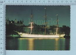 Stockholm - Strommen Port, S/S Af Chapman Vid Skeppsholmen, Sail Ship - Cover Stockholm 1977 A. V. G. - Suède