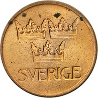 Suède, Gustaf VI, 5 Öre, 1973, TB+, Bronze, KM:845 - Suède