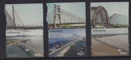 Indonesia - Bridges 2017 (Stamp Set) - Indonesia