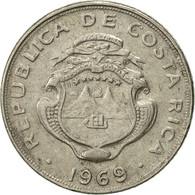 Costa Rica, 5 Centimos, 1969, TTB+, Copper-nickel, KM:184.2 - Costa Rica