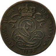 Belgique, Leopold II, Centime, 1882, TTB, Cuivre, KM:33.1 - 1865-1909: Leopold II