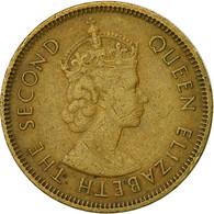 Hong Kong, Elizabeth II, 10 Cents, 1967, TTB, Nickel-brass, KM:28.1 - Hong Kong
