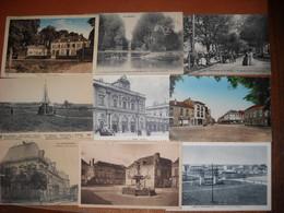 LOT N°1 De 30 CPA Du Départ. 51 Marne - 3 Scans - Cartes Postales