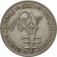West African States, 100 Francs, 1976, Paris, TTB, Nickel, KM:4 - Ivory Coast