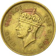 Hong Kong, George VI, 10 Cents, 1949, TTB, Nickel-brass, KM:25 - Hong Kong