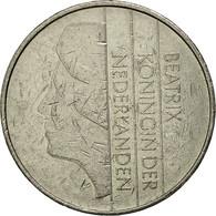 Pays-Bas, Beatrix, 2-1/2 Gulden, 1986, TTB, Nickel, KM:206 - [ 3] 1815-… : Kingdom Of The Netherlands
