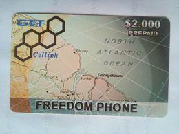 GTT $2,000 Cell Card - Guyane