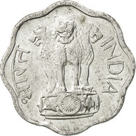 INDIA-REPUBLIC, 2 Paise, 1975, TTB+, Aluminium, KM:13.6 - India