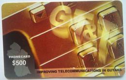 $500 Thin Exp Date 30 Jun 2000 - Guyana
