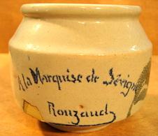 POT VIDE SANS BOUCHON A LA MARQUISE DE SEVIGNE ROUZAUD CONFITURES D'AUVERGNE - Other Collections
