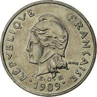 Nouvelle-Calédonie, 10 Francs, 1989, Paris, TTB+, Nickel, KM:11 - New Caledonia