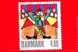 DANIMARCA - Danmark - Usato - 2002 - Europa - C.E.P.T. - Circo - Clowns - 4.00 - Danimarca
