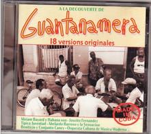 CD CUBA Guantanamera 18 Versions Originales Etat: TTB Port 110 Gr Ou 30gr - Musiques Du Monde