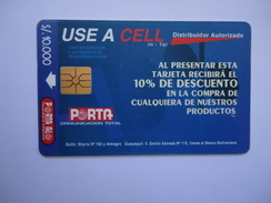 GUATEMALA   USED CARDS   ADVESTISING - Guatemala