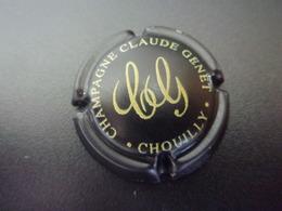 Capsule Cap's De Champagne Claude Genet CHOUILLY  ( Couleur Noir ) - Champagne