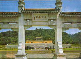 Taiwan - Postcard Unused  -    National Chung Shan Museum - Located 8 Km Northwest Of Taipei - Taiwan