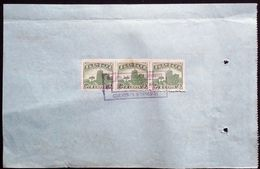CHINA  CHINE CINA 1938 SHANGHAI DOCUMENT WITH REVENUE  STAMP FISCAL - 1912-1949 Republic