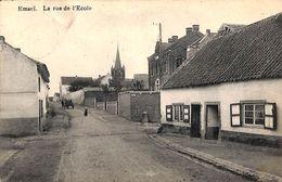 Emael - La Rue De L'Ecole (animée, Librairie Olyff, 1909) - Bassenge